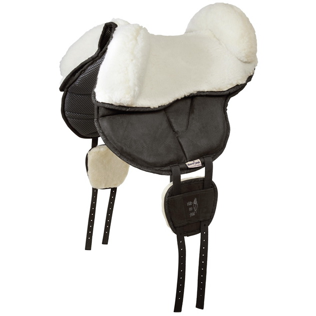 Barefoot Sheep-wool seat with blocks